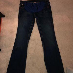 True religion maternity jeans XXL